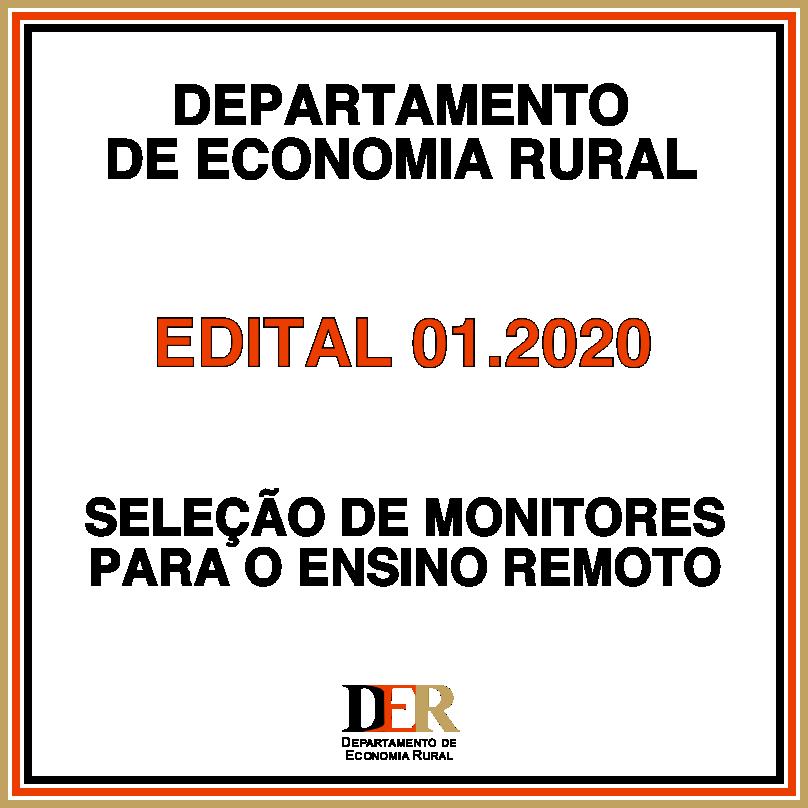 Projeto - Edital 001.2020 (Monitores)