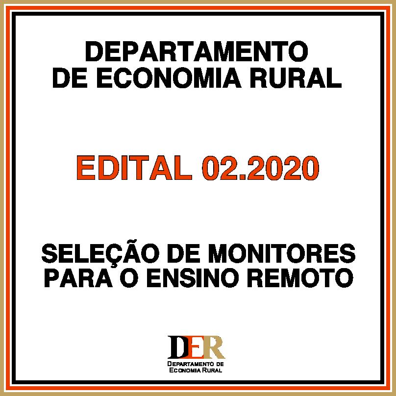 Projeto - Edital 002.2020 (Monitores)